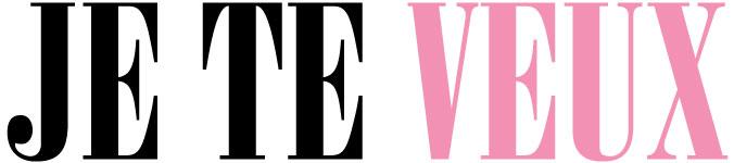 Je Te Veux Logo